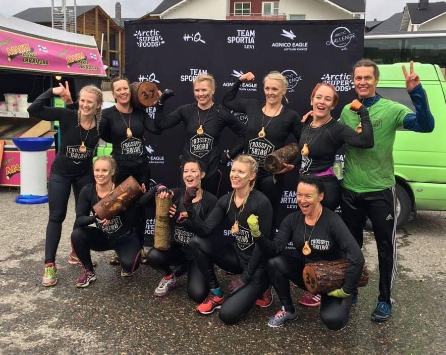 Arctic Challenge 2017 Tiimi