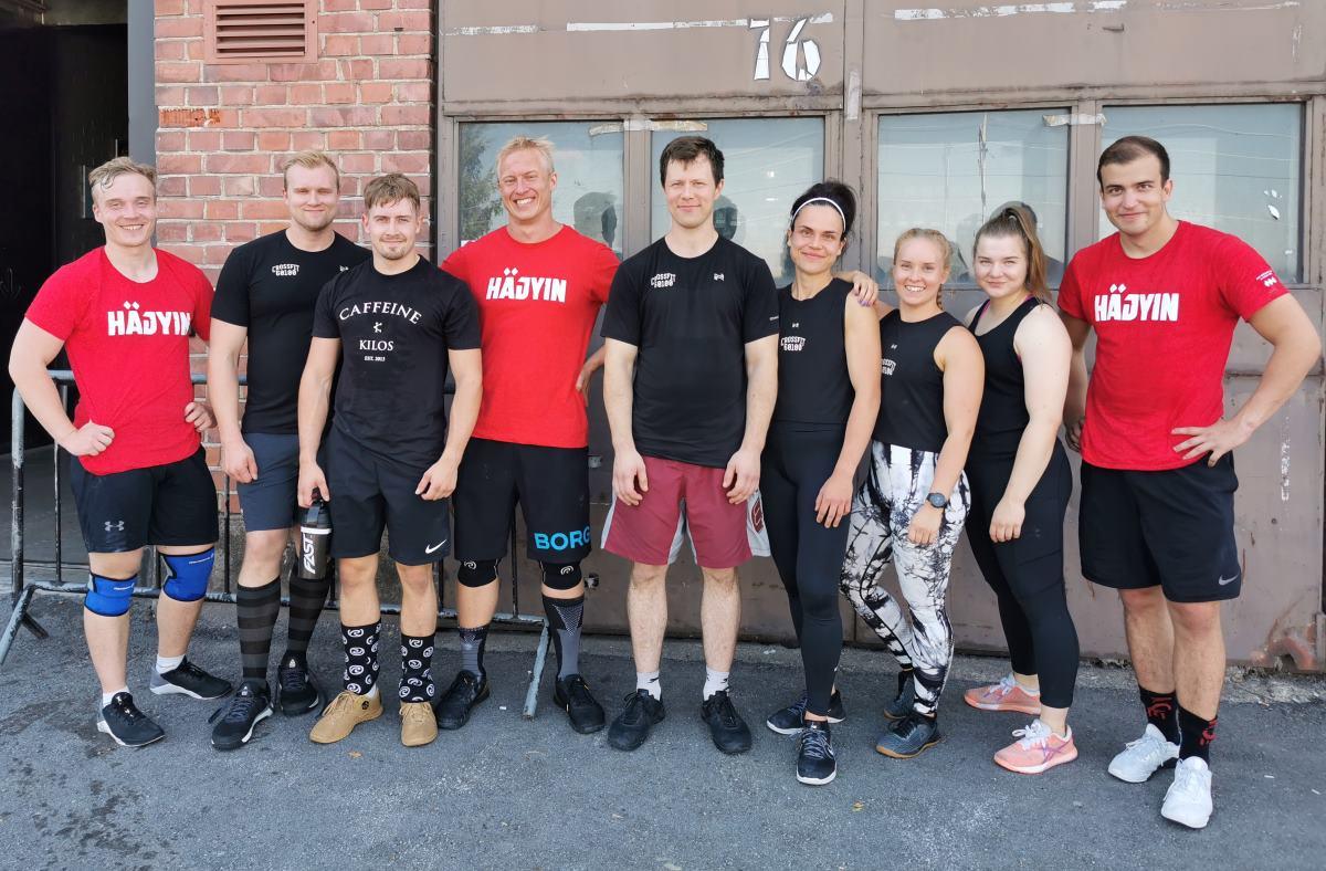 CrossFit 60100:n atleetit Häjyin 2020 -kilpailussa