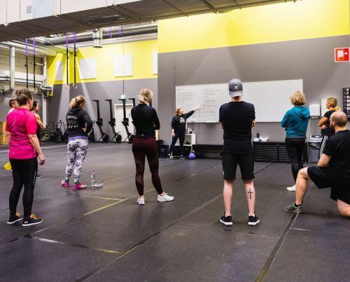 CrossFit alkeiskurssi